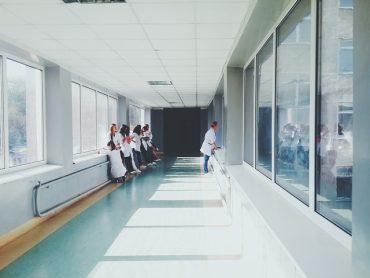 Couloir d'un hopital